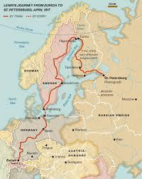 vladimir lenin s return journey to russia changed the world lenin s journey