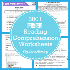 Free Printable Reading Comprehension Worksheets For Middle School ...