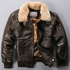 161 avirex fly air force flight jacket fur collar genuine leather jacket men winter dark brown sheepskin coat pilot er jacket mens coat jacket coats and