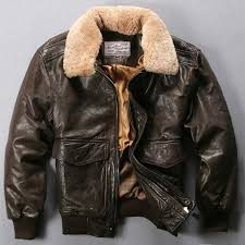 161 avirex fly air force flight jacket fur collar genuine leather jacket men winter dark brown sheepskin coat pilot er jacket mens coat jacket coats and