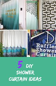 diy shower curtain ideas. Do You Have A Dull And Boring Shower Curtain In Your Bathroom? Add Some Style Bathroom With These Lovely Diy Ideas. Ideas I