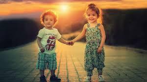 Rain Cute Love Baby Couple Wallpapers ...