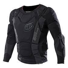 Troy Lee Designs Protection Troy Lee Designs Protector Shirt Upl 7855 Hw Black