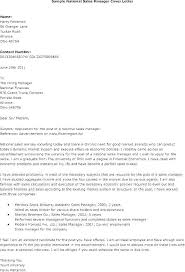 Sample Cover Letter Sales Manager Cover Letter Sales And Marketing Cover Letter Sales Sample Sales