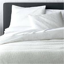 white duvet covers and pillow shams crate barrel linen full queen duvet cover crate and barrel
