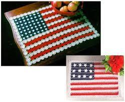 American Flag Crochet Pattern Best American Flag Doilies Crochet Pattern Maggie's Crochet