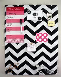 Black And White Memo Board