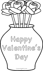 They're all printable and you'll be all set to go in just a few minutes of time. Happy Valentine S Day Coloring Pages Coloringall