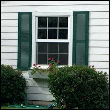 faux exterior shutters outdoor louvered window shutters faux wood exterior shutters