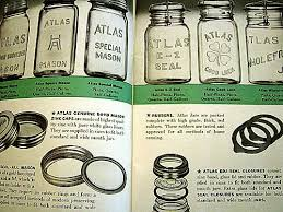 Ball Jar Value Chart Mason Jar Age Chart The Atlas Book Is Dated 1939 I Couldn