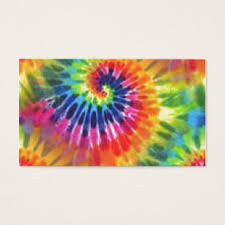tie dye business cards tie dye business cards templates zazzle