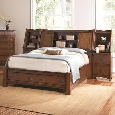 Size Of Queen Headboard Bedroom Storage Headboard Queen For Storing Bed Linens