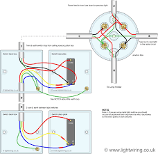 light switch 2 way wiring diagram 3 switching from junction box Two Switch Light Circuit light switch 2 way wiring diagram 3 switching from junction box competent portray wired loop out radial lighting circuit in junction box wiring diagram