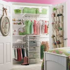 How to Glamorize a Reach In Closet Closet designs Container store