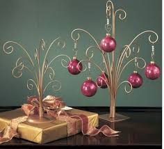 Ornament Hanger Display Stand Ornament Trees Gold Metal Ornament Trees Beautiful For 86