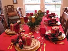 red and silver table decorations. Red And Silver Christmas Table Decorations Tittle W