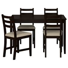 table and chairs. IKEA LERHAMN Table And 4 Chairs