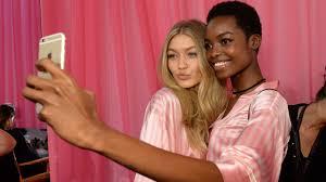 victoria secret model without makeup photo 1