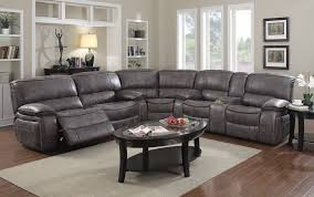 reclining sectional grey. Exellent Reclining Stanton Collection 4500 Grey Reclining Sectional To Wyckes Furniture