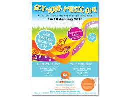 How To Design A Poster For School Bold Playful School Poster Design For All Age Music By