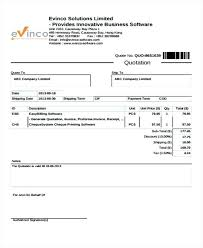 Quotation Proforma Format Sample Quotation Template Excel Price Format Of A Voipersracing Co