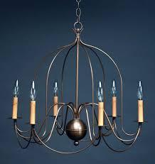 hanging bird cage arms dark antique brass 6 candelabra sockets