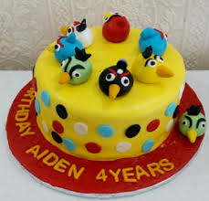 Angry Birds cakes Cakes