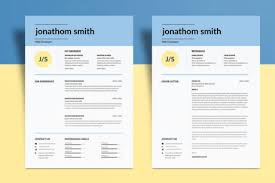 Elegant Resume Template Psd | Graphiceat