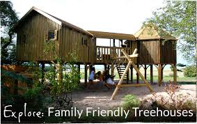 Luxury Treehouse Holidays U0026 Breaks In The UKFamily Treehouse Holidays Uk