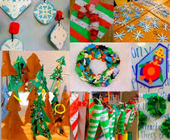 middle school Christmas crafts