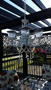 full size of lighting elegant solar powered chandelier 23 best patio lights ideas on garden for