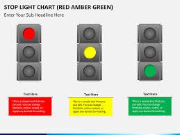 Light Chart Stop Light Chart Red Amber Green