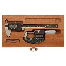 mitutoyo electornic caliper micrometer tool kit