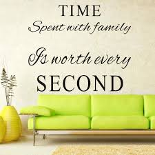 Family Time Quotes 13 Inspiration Family Room Wall Decals Together With Time Spent With Family Is