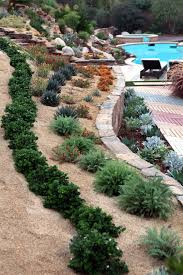 Steep Hill Garden Design Back Yard Landscaping Design Idea With Steep Slope By