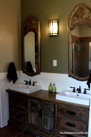 Remodelaholic Rustic Bathroom Makeover With Board And Batten - Bathroom makeover