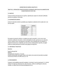 Practica 2 Cromatografia Capa Fina