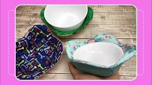 How to Sew a <b>Bowl</b> Cozy with Crafty Gemini - YouTube