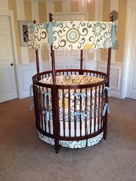 round crib bedding round cribs