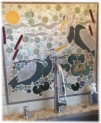 Large Decorative Ceramic Tiles 100 best Large bird mosaic tiles images on Pinterest Mosaics Heron 71