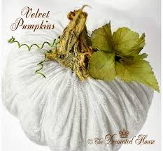 diy how to make pretty and plush velvet pumpkins tutorial the decorated house