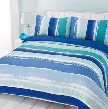 blue striped duvet cover ikea