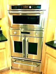 inch stainless steel wall oven gas double 24 ge stee