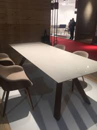 Clean white table top design