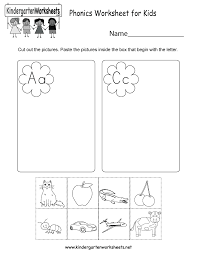 This page contains all our printable worksheets in section phonics of preschool and kindergarten english language arts. Free Printable Phonics Worksheet For Kids