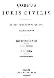 Римское право Википедия Источники править править код