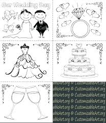 Printable Wedding Coloring Pages Wedding Coloring Pages Free Free