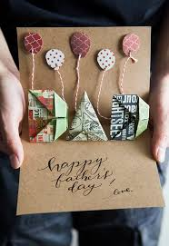 origami pop up father s day card it s a traditional way to show your love to