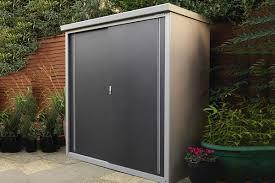 outside metal storage cabinets small garden tool storage box garden storage trunk
