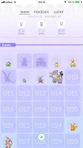 Suggestion Additional Pokedex For Shiny And Lucky Pokemon